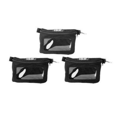 Porta Brace Set of 2 Pouches w/ Clear Vinyl Windows