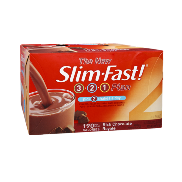 SlimFast 3.2.1 Plan Rich Chocolate Royale Shakes