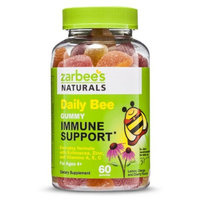 Zarbee's Naturals Children's Daily Bee Gummy Immune Support Berry -