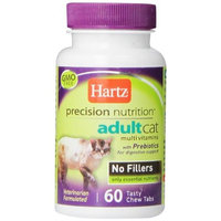 Hartz Precision Nutrition Adult Cat Multivitamins, 60 Chew Tabs