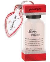 philosophy have a cherry christmas shower gel ornament, 3 fl oz