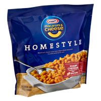 Kraft Homestyle Cheddar and Bacon Macaroni & Cheese