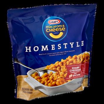 Kraft Homestyle Cheddar and Bacon Macaroni & Cheese
