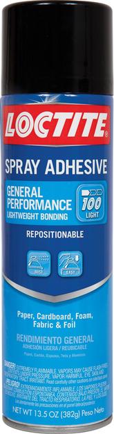 Loctite Corporation North American Group Loctite General Performance Adhesive Spray, 13.5 oz, 1/ea