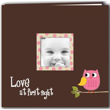 Pioneer Photo Albums Baby Owl Printed Design Postbound Scrapbook Album 12