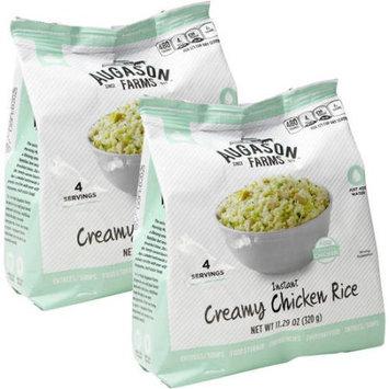 Augason Farms Instant Creamy Chicken Rice, 11.29 oz
