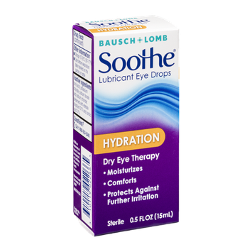 Bausch + Lomb Soothe Lubricant Eye Drops Hydration