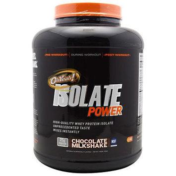 ISS, Isolate Powder Chocolate Milkshake 4 lbs