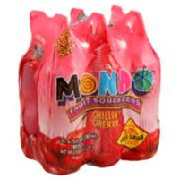 Mondo Chillin' Cherry Fruit Squeezers (6 pack/6.75 oz.)