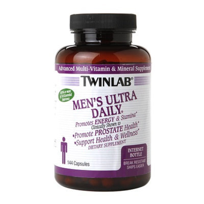 Twinlab Men's Ultra Daily Multivitamin, Capsules, 144 ea