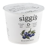 Siggi's Yogurt Strained Non-Fat Blueberry