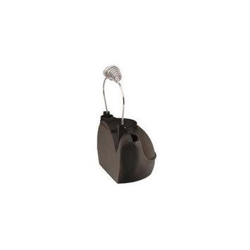 Woodeze 5CN-HK-BC 2 Quart Black Half Kettle -Chrome Handle