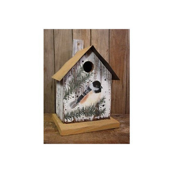 Gold Crest Distributing Chickadee Birdhouse