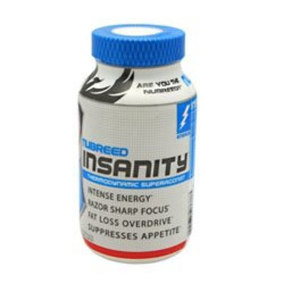 Nubreed Nutrition Insanity - 45 Capsules