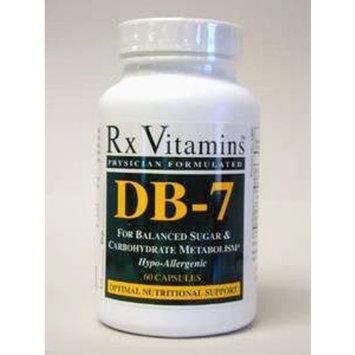 RX Vitamins - DB-7 - 60 Caps Health and Beauty