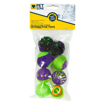 Our Pets Rollin' In Fun Assorted Styles 8 Count