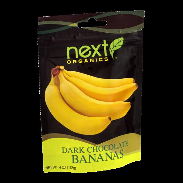 Next Organics Dark Chocolate Bananas