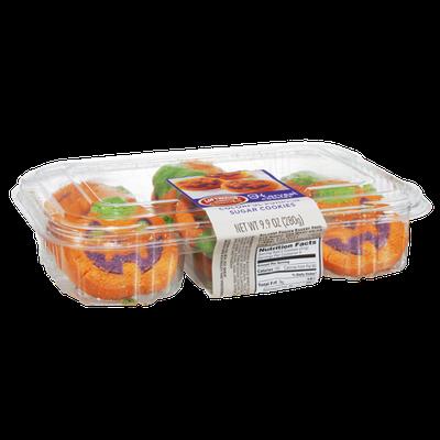 Lofthouse Harvest Colorful Pumpkin Sugar Cookies - 18 CT