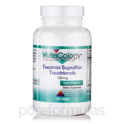 Nutricology/allergy Research Tocomin SupraBio Tocotrienols 100 mg, 120 Softgels, NutriCology