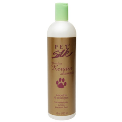 Pet Silk Brazilian Keratin Shampoo, 16 oz