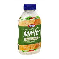 Kraft Sandwich Shop Mayo Garlic & Herb Flavored Reduced Fat Mayonnaise