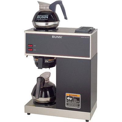Bunn VPR-2EP 12Cup Pourover Commercial Coffee Brewer 2EZ Pour Commercial Decanters