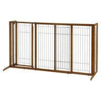 Richell Freestanding Deluxe Pet Gate with Door - Large