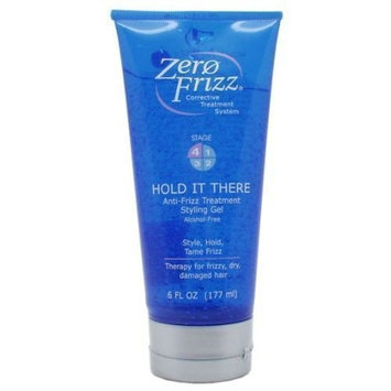Zero Frizz Hold It There Anti-Frizz Treatment Styling Gel 6 oz.