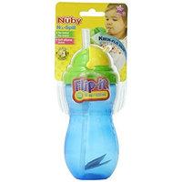 Nuby 14 oz Flip-It Leak Proof Straw Bottle (Discontinued by Manufacturer)