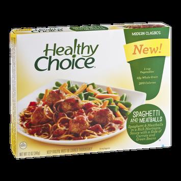 Healthy Choice Modern Classics Spaghetti and Meatballs
