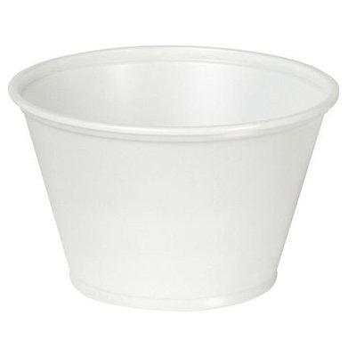 DIXIE P055TRANSLUC Souffle Cup,5.5 oz, Translucent, PK2400