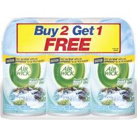 Air Wick Freshmatic Ultra Refill, Fresh Waters, 6.17 Ounce, 3 Count