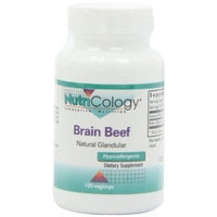 Nutricology Brain Beef Glandular Capsules, 100 Count