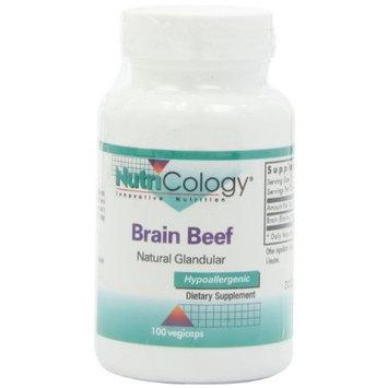 Nutricology Brain Beef Glandular Capsules, 100 Count