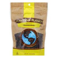 Plentiful Planet Fruit Cranberry Bag 10 OZ (Pack of 6)