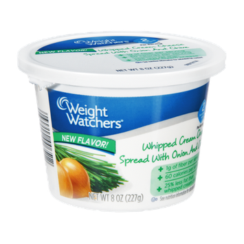 Weight Watchers Onion and Chive Whipped Cream Cheese Spread