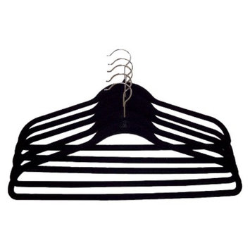 Joy Mangano Huggable Hangers 5-Pc. Suit Hangers - Black