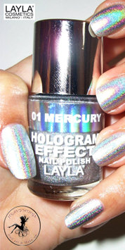 Layla Cosmetics Layla Hologram Effect Nail Polish in ULTRA VIOLET