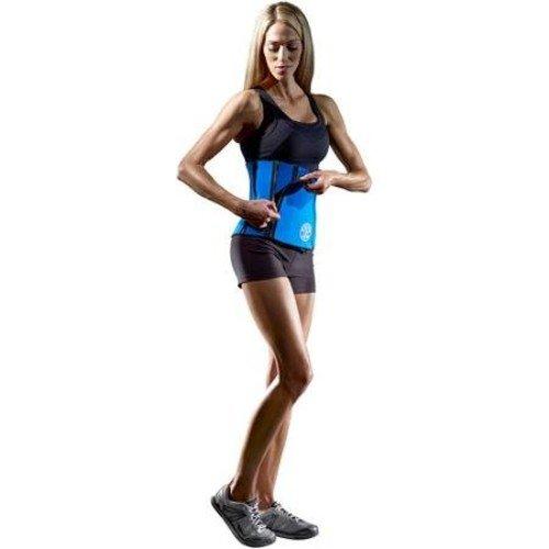 Icon Health & Fitness, Inc. Golds Gym Waist trimmer belt Back Support Neopren adjustable w zipper closure