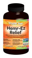 Crystal Star Hemr-EZE - 90 - Capsule [Health and Beauty]