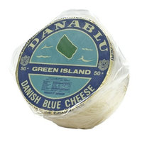 Green Island Danish Blue Cheese - 1 x 7 lb (avg weight)