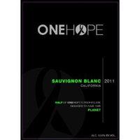 2011 ONEHOPE California Sauvignon Blanc 750 mL