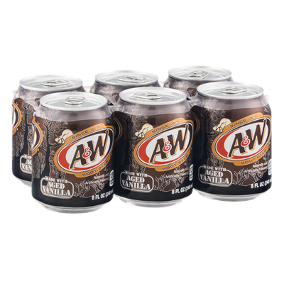 A&W Root Beer - 6 PK