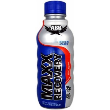 ABB American Body Building Maxx Recovery Fruit Punch -- 18 fl oz