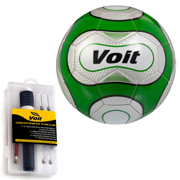 Lion Sports Inc. Reflect Soccer Ball with Ultimate Inflating Kit