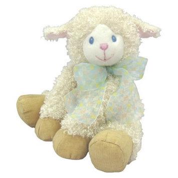 First & Main Lela Lamb Plush Toy - Cream (7.5
