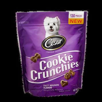 Cesar Canine Cuisine Cookie Crunchies Filet Mignon Flavor Treats