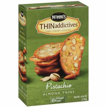 Nonni's THINaddictives Pistachio Almond Thins