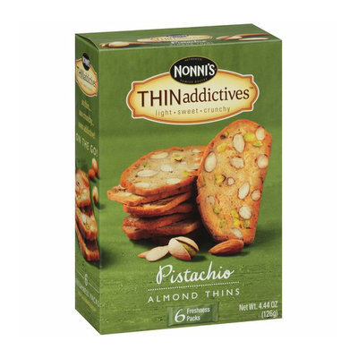 Nonni's THINaddictives Pistachio Almond Thins