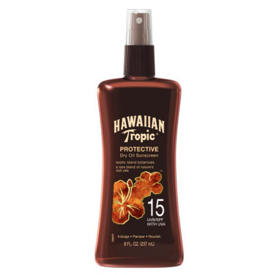 Hawaiian Tropic® Protective Dry Oil SPF 15 Sunscreen